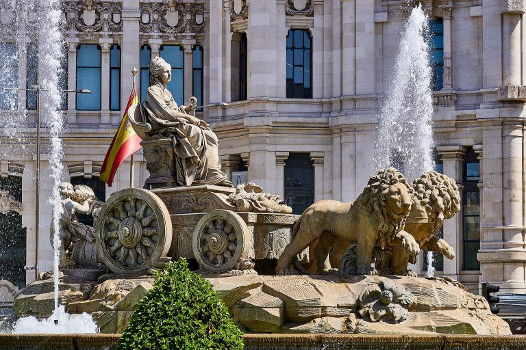 Travel itinerary for 2 days in Madrid