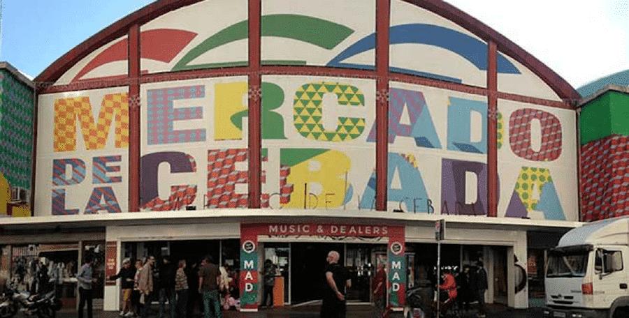 Mercado de La Cebada - one of the best restaurants in La Latina Madrid